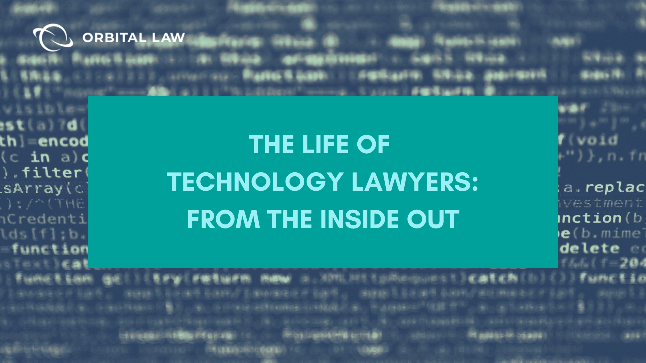 Technology lawyers blog image